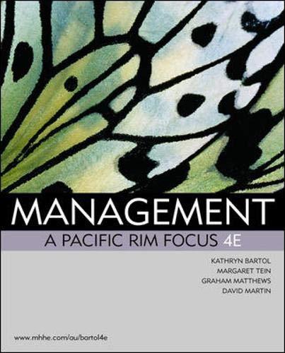 9780074714195: Management: A Pacific Rim Focus