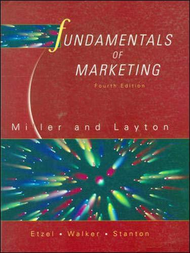 9780074714362: Fundamentals of Marketing
