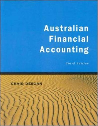 9780074714379: Australian Financial Accounting