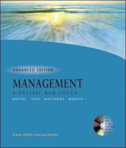 9780074714454: Management: A Pacific Rim Focus