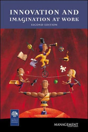 9780074714539: Innovation and Imagination at Work