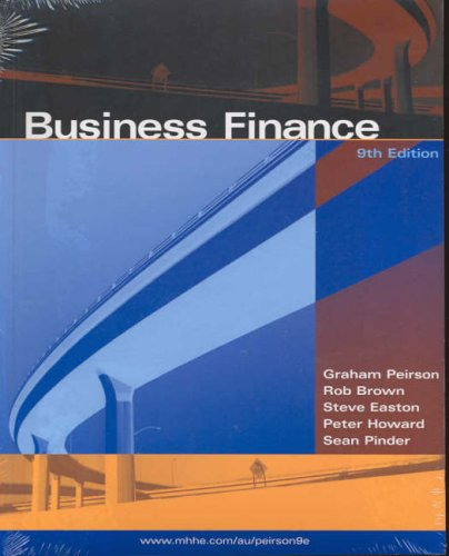 9780074714720: Business Finance