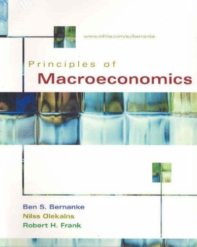 9780074714805: Principles of Macroeconomics