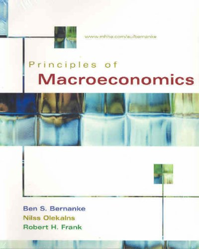 9780074714805: Principles of Macroeconomics