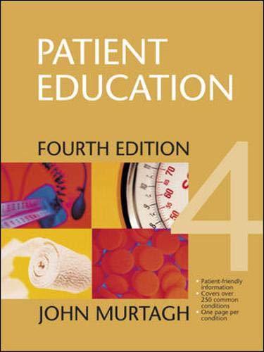 9780074714980: Patient Education