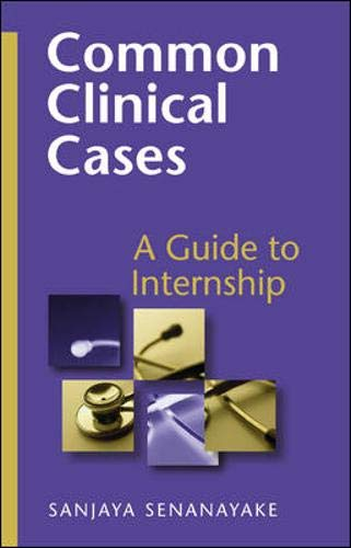 9780074715093: Common Clinical Cases: A Guide to Internship