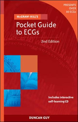 9780074715543: McGraw-Hill's Pocket Guide to ECGs
