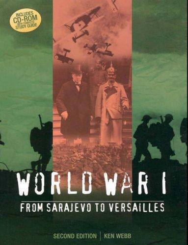 9780074715765: World War I: From Sarajevo to Versailles