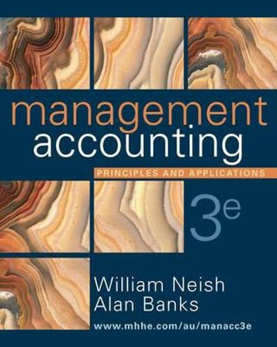 9780074715789: Management Accounting: Principles and Applications