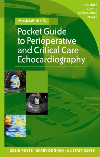 9780074716113: McGraw-Hill's Pocket Guide to Perioperative and Critical Care Echocardiography (McGraw-Hill Pocket Reference)