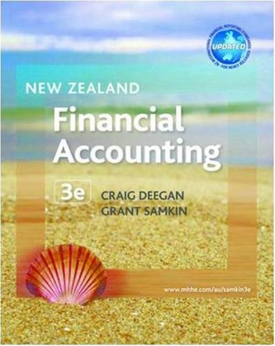 9780074716175: New Zealand Financial Accounting (Australia Higher Education Business & Economics Accounting)
