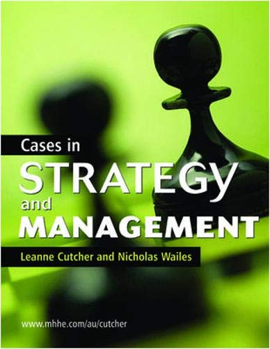 9780074716199: Cases in Strategy and Management