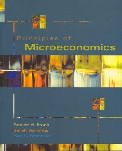 9780074716595: Principles of Microeconomics