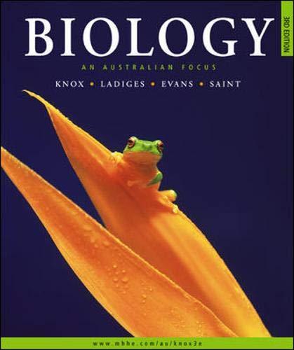 9780074716649: Biology: An Australian Focus