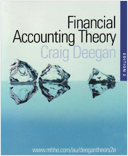 9780074716717: Financial Accounting Theory