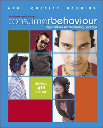 9780074716939: Consumer Behaviour Enhanced Edition: Implications for Marketing Strategy