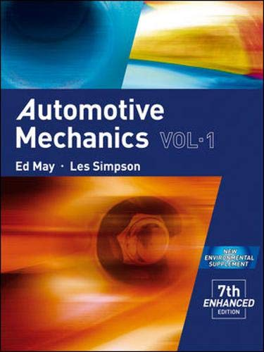 9780074717028: Automotive Mechanics Vol-1 (1)