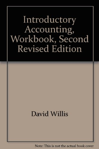 9780074717103: Introductory Accounting, Workbook, Second Revised Edition