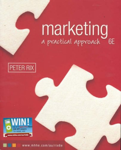 9780074717516: Marketing: A Practical Approach