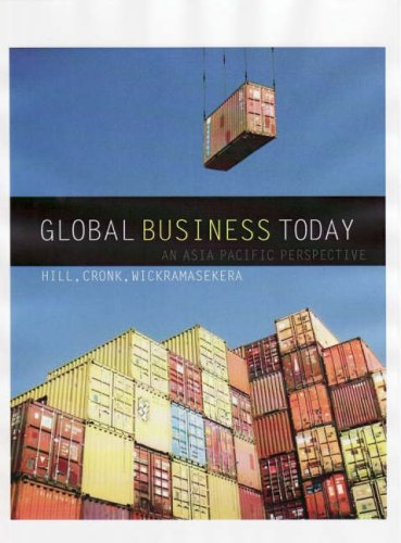9780074717530: Global Business Today: An Asia Pacific Perspective