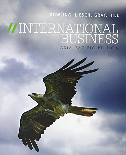 9780074717547: INTERNATIONAL BUSINESS ASIA - PACIFIC EDITION