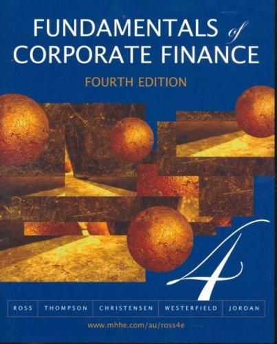 9780074717813: Fundamentals of Corporate Finance