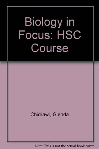 9780074717882: Biology in Focus: HSC Course
