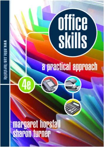 9780074719336: Office Skills Pract Approach With Workbk