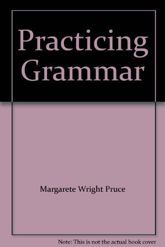 9780075055358: Practicing Grammar