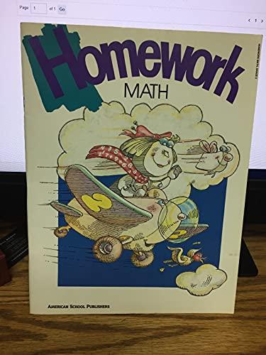 9780075390589: Homework Math Grade 2