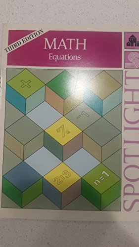 Spotlight on math: Equations: Wise, Alan