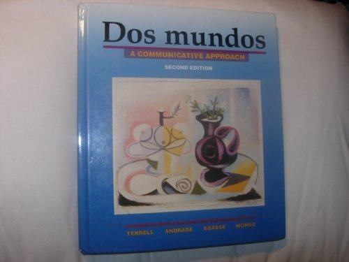 9780075408109: Dos Mundos: A Communicative Approach (English and Spanish Edition)