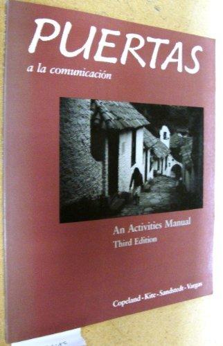 9780075408468: Puertas a la Comunicacion: An Activities Manual