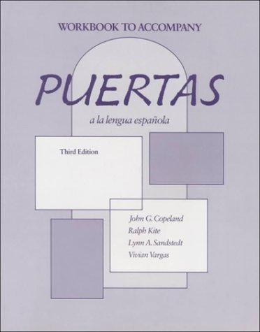 9780075408482: Puertas LA Langua Espanola: An Introductory Course