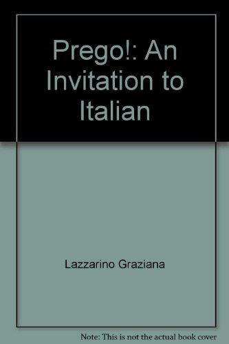 9780075408659: Title: Prego An Invitation to Italian