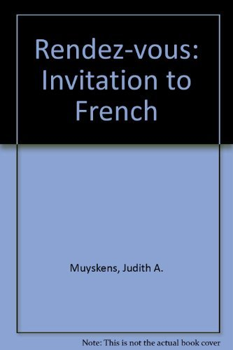 9780075408673: Rendez-vous: Invitation to French