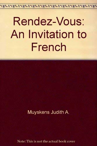 9780075408710: Rendez-Vous: An Invitation to French