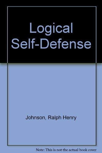 9780075485889: Logical Self-Defense