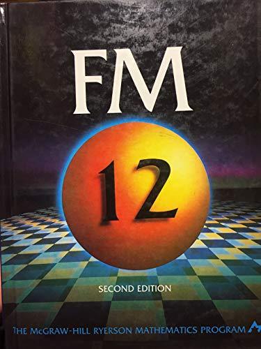 Foundations of Mathematics:FM 12 2nd Edition: Dottori, D.; Knill,