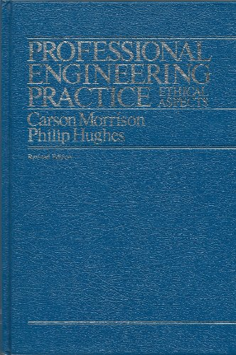 9780075488347: Professional Engineering Practice - Ethical Aspects