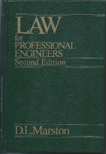 9780075488408: Law Professional Engineers