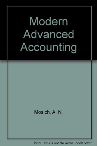 9780075489016: Modern Advanced Accounting
