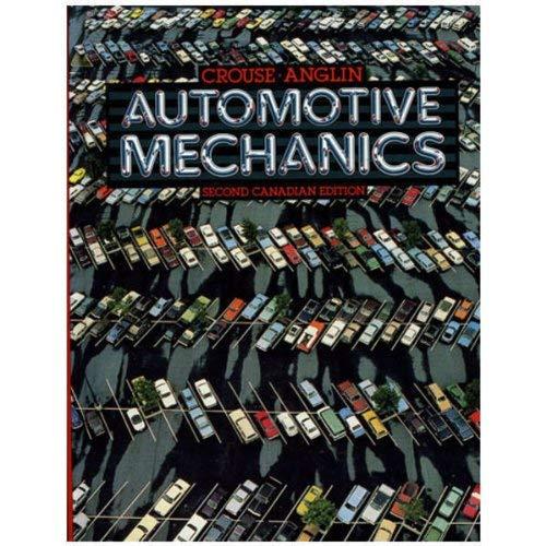 9780075489498: Automotive Mechanics (2nd Canadian ed)