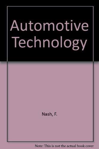 9780075489504: Automotive Technology