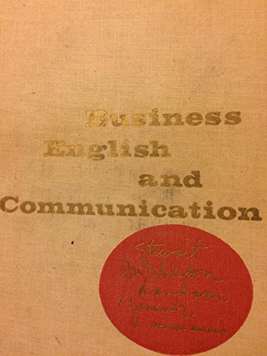 Business English and Communication: Marie M. Stewart;