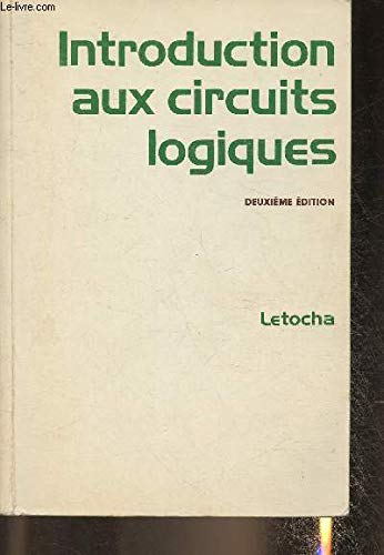 9780075489856: Introduction aux circuits logiques