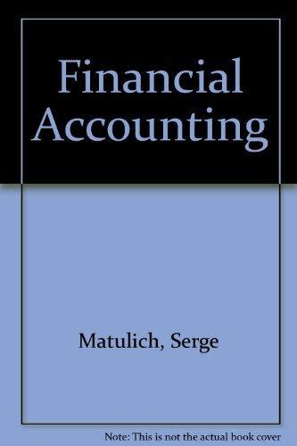 9780075490210: Financial Accounting