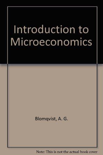 9780075491613: Introduction to Microeconomics