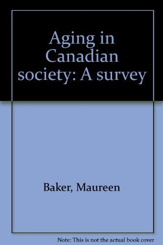 9780075491736: Aging in Canadian society: A survey