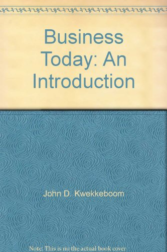 9780075491835: Business Today: An Introduction